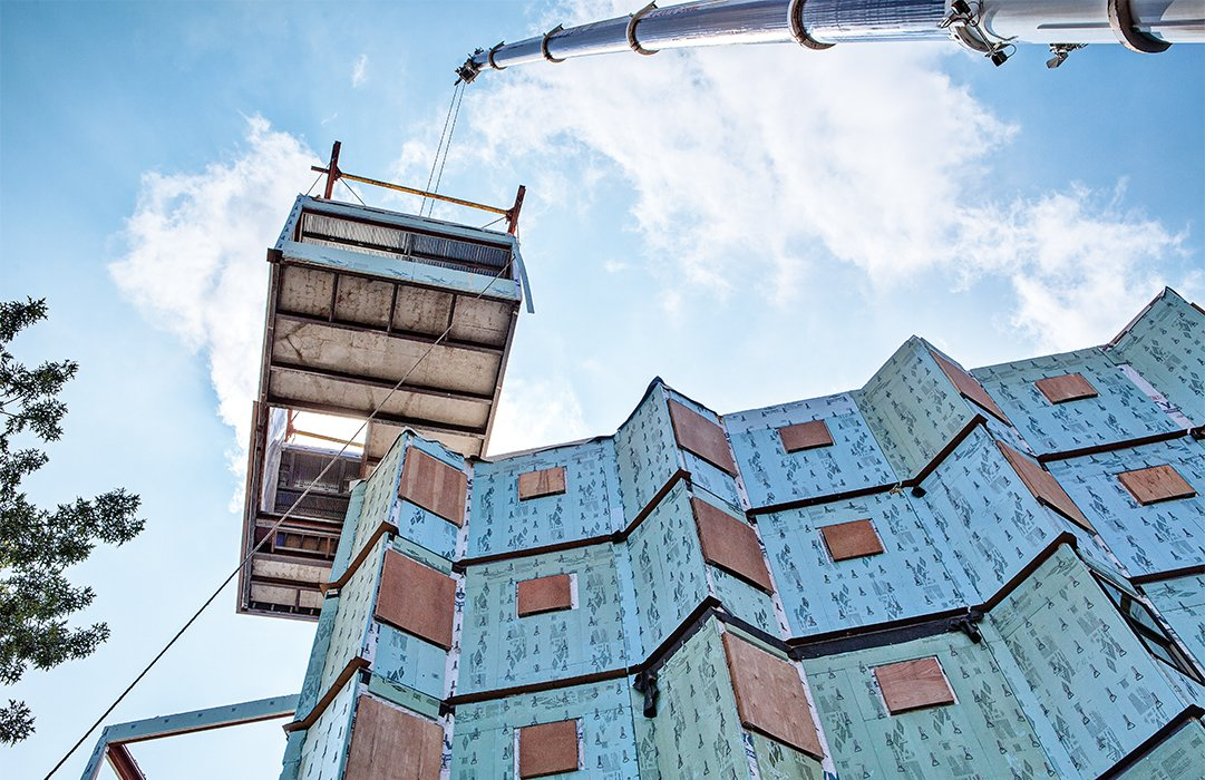 """The industry still has room to expand in terms of production. As we've noted in our pages, industry leaders feel momentum behind factory-built housing, but it will only pick up speed once the industry scales up and bends the cost curve. """"The demand definitely exceeds the supply,"""" says Robby Kullman of Capsys, which assembles modular structures inside a 75,000-square-foot factory at the Brooklyn Navy Yard.  Photo 6 of 6 in 5 Things You Should Know About Modern Prefab Construction"""