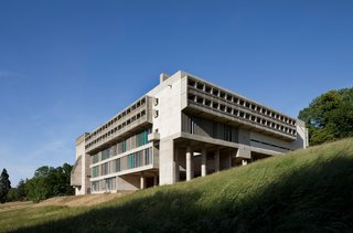 UNESCO Adds 17 Le Corbusier Buildings to Its Storied Ranks - Photo 7 of 8 - Located near Lyon, France, the Couvent Sainte-Marie de la Tourette is known for its monumental concrete form and integration into the landscape.