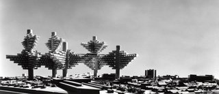 The Master Plans of a Modern Past - Photo 2 of 3 - City in the Air by Arata Isozaki (1960-62)