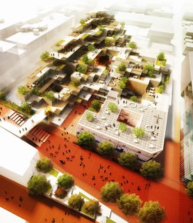 A Digital City Rises in Guadalajara - Photo 1 of 1 - MIT created the master plan for Guadalajara's Ciudad Creativa Digital, which is meant to foster Mexico's technology sector.