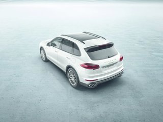 New Porsche Cayenne Editions Promise Greater Efficiency Without Compromising Performance - Photo 2 of 7 - The most noticeable update to the Cayenne's form is the rear. The tailgate takes the shape of the rear lights, adding breadth to the vehicle.