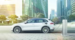 New Porsche Cayenne Editions Promise Greater Efficiency Without Compromising Performance - Photo 5 of 7 - All four versions feature new fuel-saving functions, but the Cayenne S E-Hybrid take the gold when it comes to green. Capable of being driven on pure electric power, the trailblazing vehicle is the world's first plug-in hybrid luxury SUV.