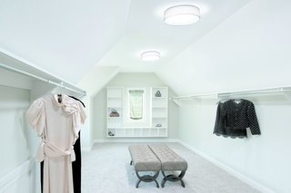 See How Solatube Products Stream Natural Light Into Even the Darkest Corners of the Home - Photo 5 of 7 - Even in rooms that have windows, tubular skylights are a smart way to diffuse supplemental light across the entire space.