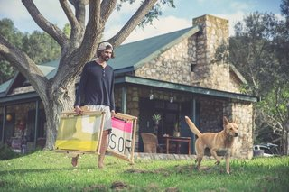 Salvaged Outdoor Gear Gets New Life, Thanks to a Surfer-Designer Duo - Photo 6 of 8 - Eales, a 2013 Design Indaba Emerging Creative whose surfboard rack won Most Beautiful Object in South Africa two years ago, is a product designer with a focus on the integrity of the raw materials he uses. Together, with a shared passion for the water and creating environmentally friendly products, he and Schlebach hope that Sealand will help keep litter from South Africa's shores.