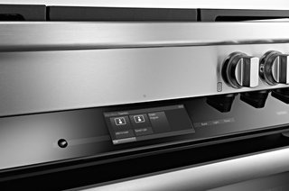 Sleek Oven Will Solve Your Cooking Needs - Photo 2 of 4 - Sleek digital controls characterize the Range Series. Miele's MasterChef automatic programs will help users cook a variety of dishes, from meat to bread—there are 15 bread recipes included.