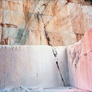 """Image of a Marble Quarry by Tito Mouraz via Calico Wallpaper."""