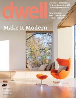 Dwell Magazine 2016 Issues - Photo 3 of 10 - September 2016, Vol. 16 Issue 08