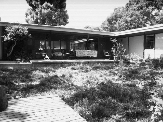 The house prior to renovation.  Photo 7 of 14 in Creative Revival of a Modernist Gem