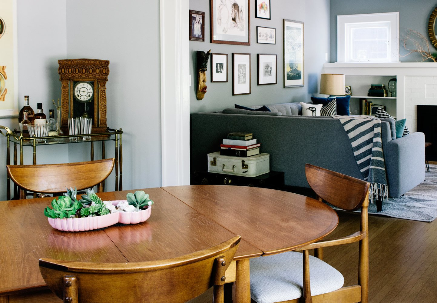 Photo 1 of 10 in A 1925 Portland Home Is a Rad Mashup of 20th-Century Styles