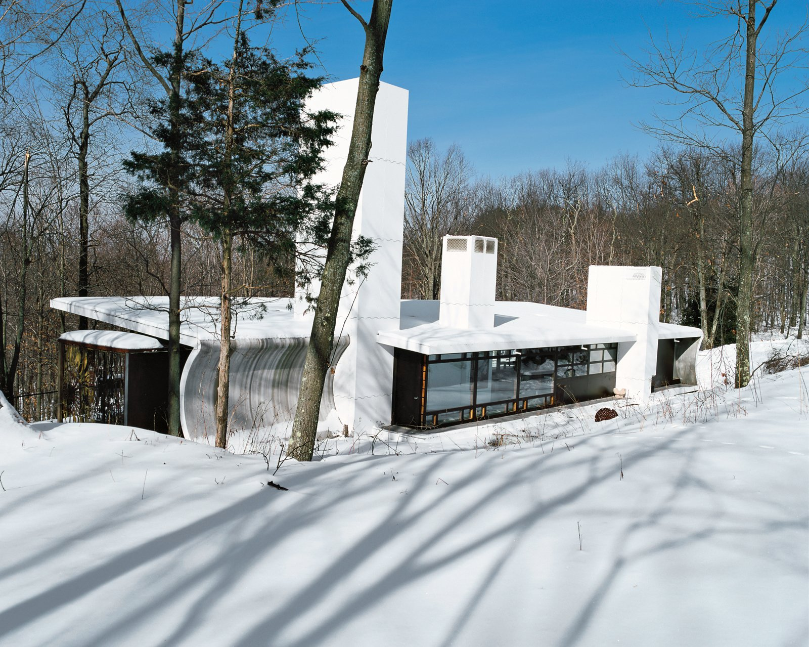 Photo 1 of 12 in A Hybrid Prefab Home in Upstate New York