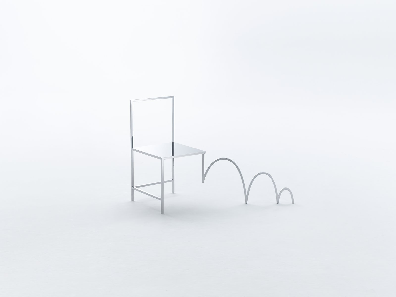 Each chair has a distinct personality. Inspired by the visual devices typically used in Manga, no two chairs are alike.
