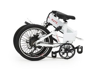 The Training Wheels Are Off for This New Electric Bike - Photo 2 of 5 - The MATE electric bike is completely foldable.
