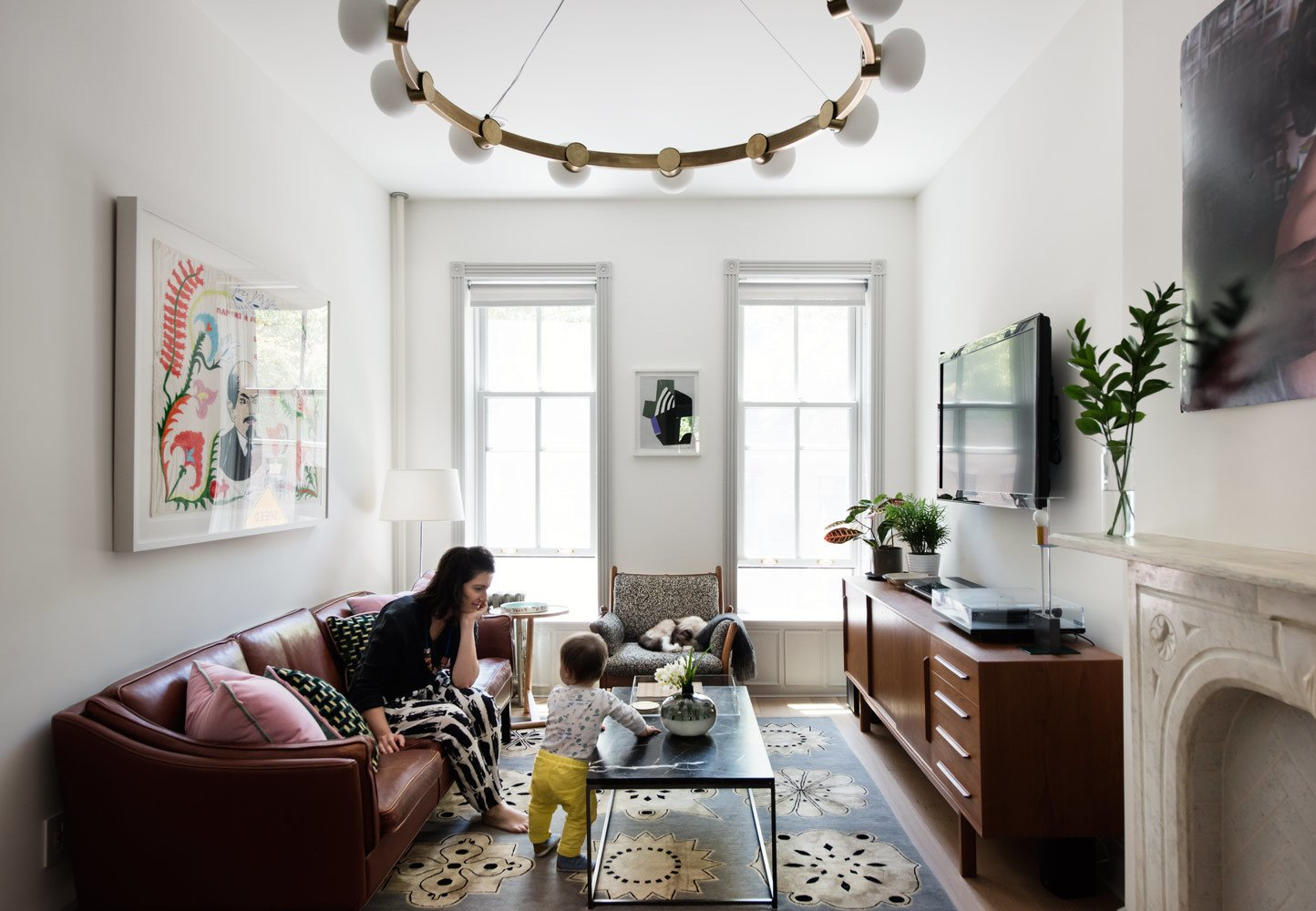 Modern Becomes Eclectic In This Renovated Brooklyn