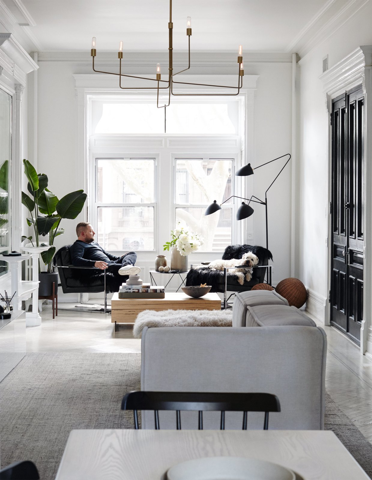 A Fashionable Couple Remake Their Brooklyn Brownstone with a Sartorial Twist