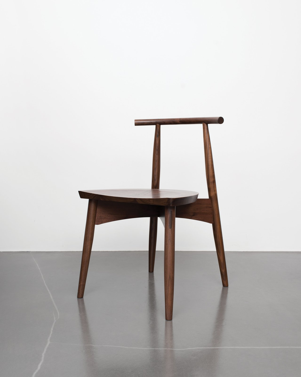 Eight simple components assembled by traditional joinery make up the Portland chair, so-called for the city name shared by Oregon and Maine, where Phloem Studio and Thos. Moser's headquarters are respectively based. A Chair That Shows How Tech and Craft Come Together - Photo 2 of 5