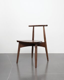 A Chair That Shows How Tech and Craft Come Together - Photo 1 of 4 - Eight simple components assembled by traditional joinery make up the Portland chair, so-called for the city name shared by Oregon and Maine, where Phloem Studio and Thos. Moser's headquarters are respectively based.
