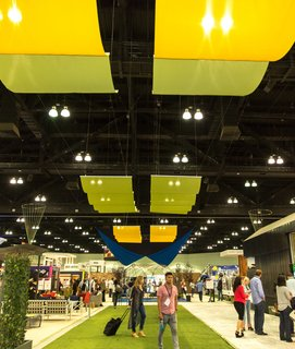 From the Show Floor and Beyond: Dwell on Design 2016 - Photo 2 of 18 - This year's show comprised hundreds of exhibitors who displayed the latest in furnishings, appliances, materials, building systems, and more.