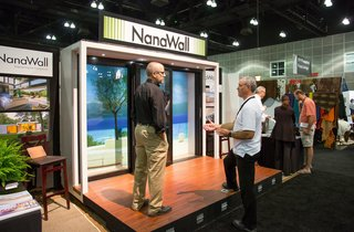 From the Show Floor and Beyond: Dwell on Design 2016 - Photo 11 of 18 - NanaWall bifolding glass walls provide flexible architectural openings for home and commercial projects.