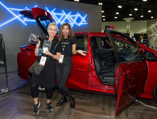 From the Show Floor and Beyond: Dwell on Design 2016 - Photo 13 of 18 - Toyota Prius, our ride and drive partner for the show, not only displayed models on the show floor, but also encouraged interested attendees to take one for a spin around the neighborhood.