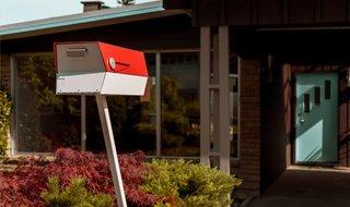 modbox USA Midcentury Modern Mailbox