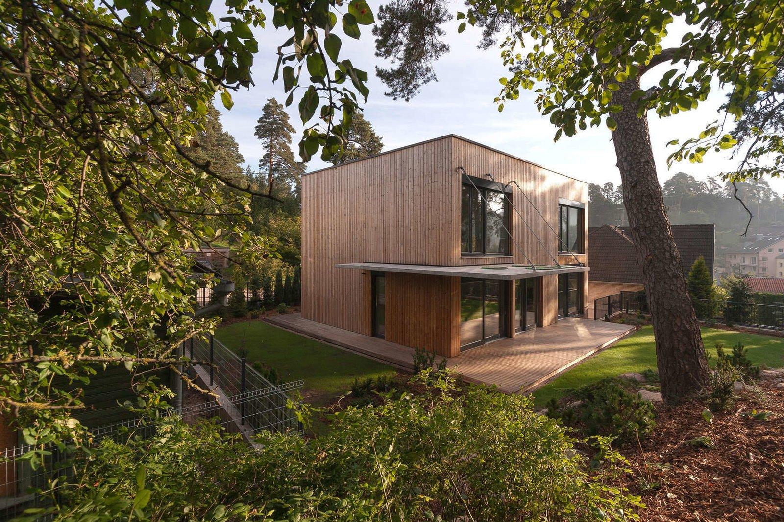 Via Architizer, photo by Aketuri Architektai  Photo 9 of 11 in This Week's 10 Best Houses