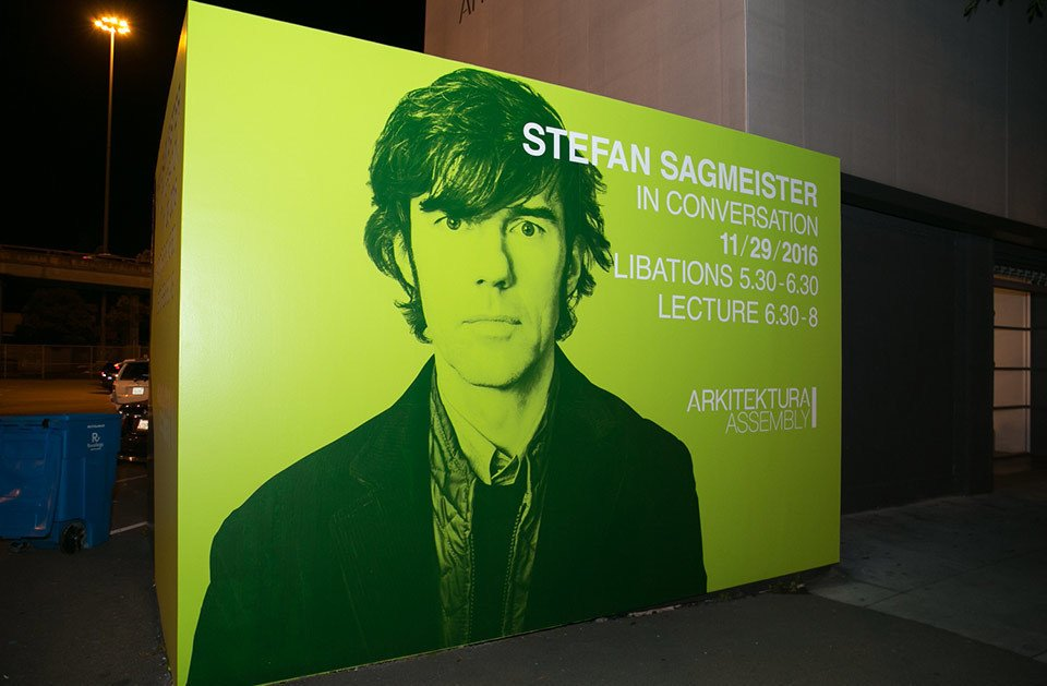 Photo 1 of 6 in A Conversation with Stefan Sagmeister