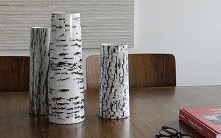 Modern by Dwell Magazine Stoneware Bark Vase