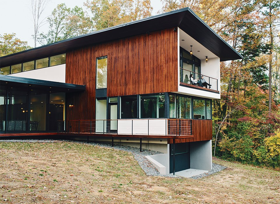 Minimal north carolina home built for a tech forward west for North west house