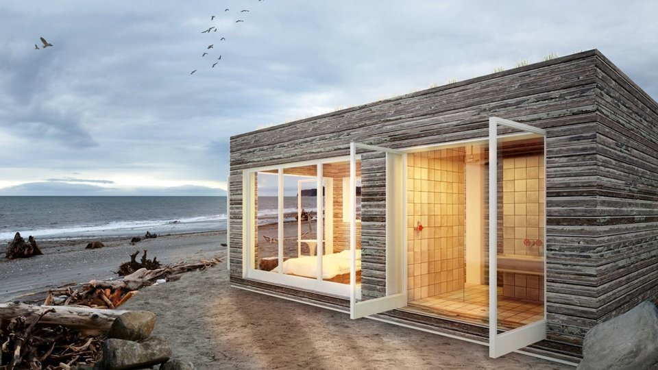 Project Name: Portable Prefab Outside Boxes  Website: http://www.bertandmayspaces.com/  Photo 7 of 23 in 22 Modern Prefab Companies That Every Homebuyer Can Rely On