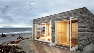 "8 Inspirational Island Prefabs - Photo 6 of 8 - ""Designed in collaboration with Box 9 Design, Bert's Boxes combine functionality with aesthetics, creating innovative and stylish modular living spaces that are thoughtfully designed. Prefab no longer signifies compromise on any level"" - Bert & May."