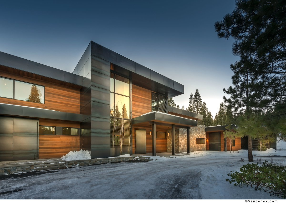 Project Name: Martis Camp, CA  Website: http://www.cleverhomes.net  Photo 12 of 23 in 22 Modern Prefab Companies That Every Homebuyer Can Rely On
