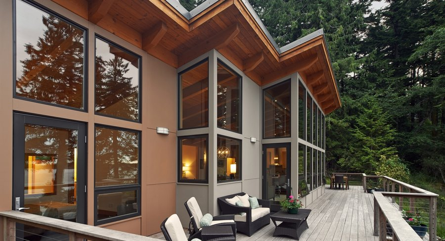 Project Name: TimberCab Tagged: Exterior and Prefab Building Type.  Photo 5 of 21 in 20 Modern Prefab Companies Perfect for Mountain Living