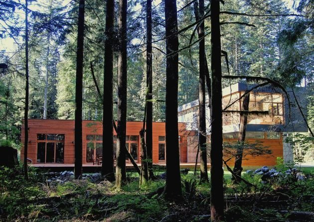Project Name: North Bend Residence  Photo 21 of 21 in 20 Modern Prefab Companies Perfect for Mountain Living