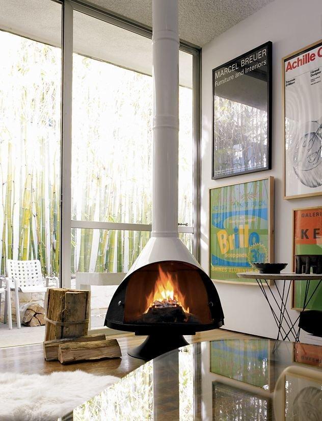 Malm Fireplace via DWR