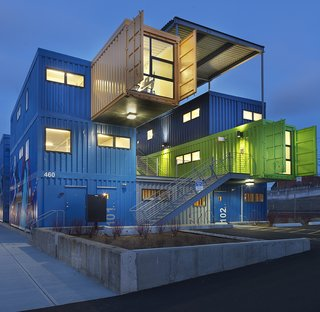 16 Prefab Shipping Container Home Companies in the United States - Photo 4 of 16 - Project Name: Box Office