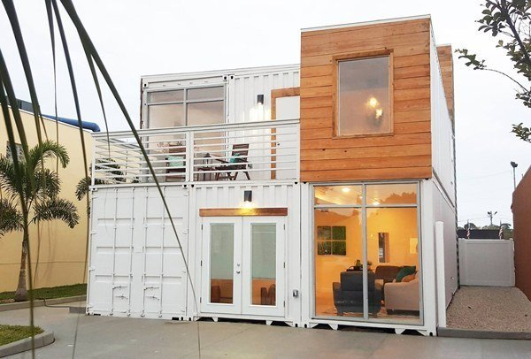 Photo 14 of 17 in 16 prefab shipping container home - Companies that build shipping container homes ...