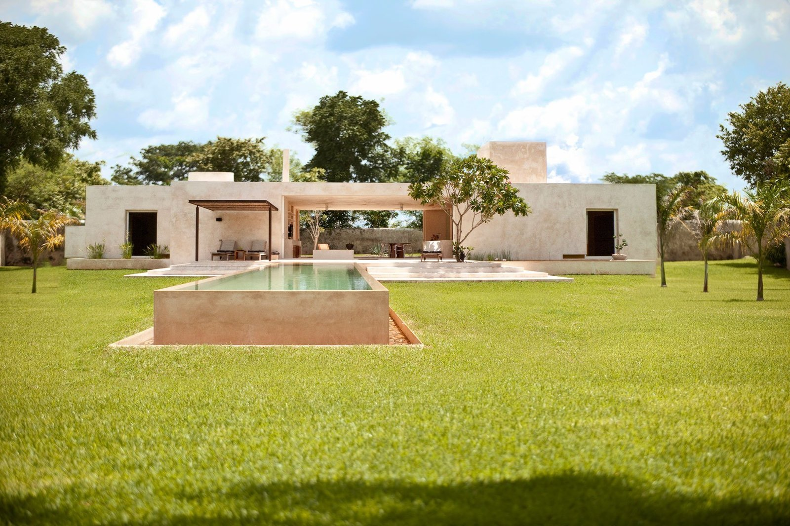 Tagged: Outdoor, Trees, and Grass.  Photo 1 of 11 in 10 Modern Vacation Homes in Mexico That Guarantee an Epic Escape