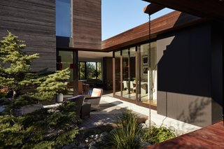 """Greener Grass - Photo 2 of 14 - A builder by trade, Ian <br>served as general contractor, working with designer Eric Walter of mw