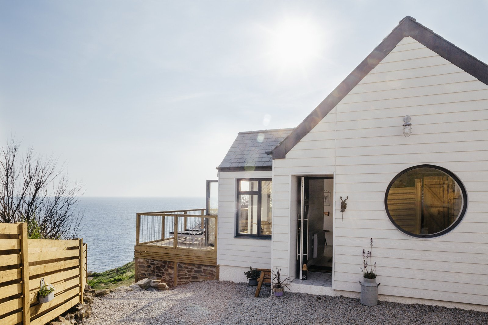 Photo 1 of 15 in Escape For a Weekend Away at One of These Cornish Retreats That Fuse Old and New