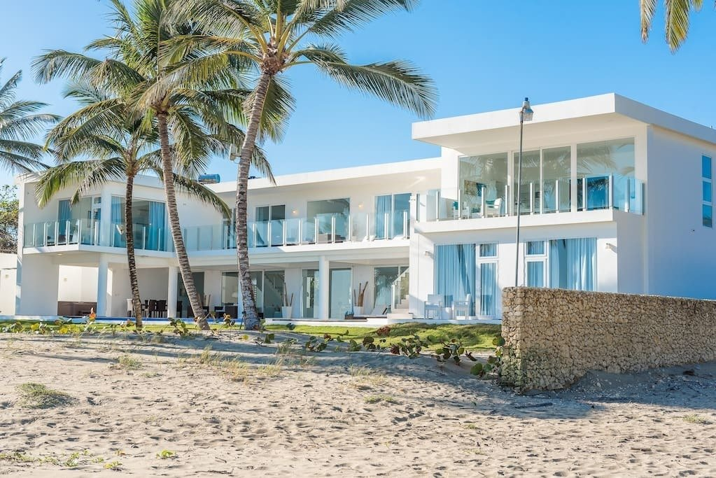 This modern beachfront home enjoys stunning ocean views from every room. Find Yourself in Paradise at These 10 Modern Rentals in the Caribbean - Photo 10 of 10