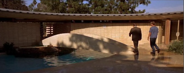 Film: <i>The Fast and the Furious</i> (2001) Tagged: Outdoor, Small Pools, Tubs, Shower, and Front Yard.  Photo 14 of 16 in 10 Modern Homes That Made a Star Appearance in Films