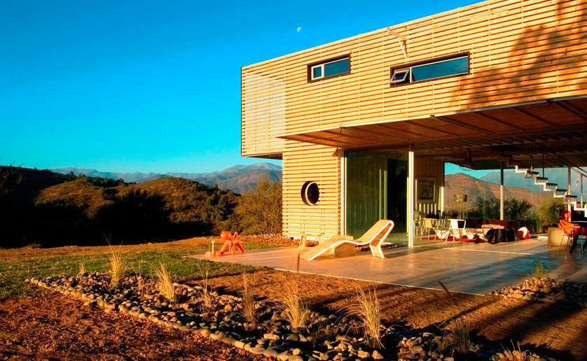 Project Name: Curacaví House  Photo 3 of 11 in 10 Prefab Shipping Container Companies in Europe
