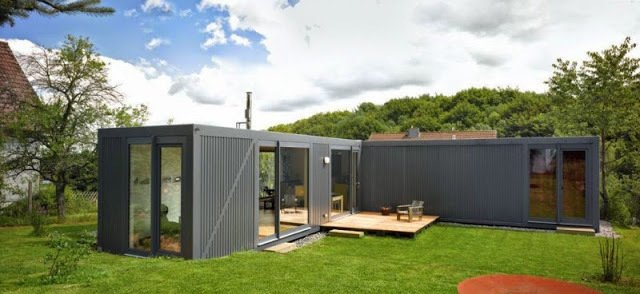 Project Name: Containerlove Shipping Container Home in Germany  Photo 9 of 11 in 10 Prefab Shipping Container Companies in Europe