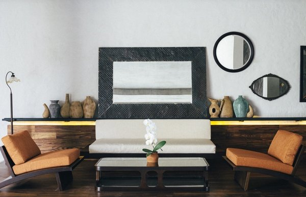 European, Japanese, and Balinese aesthetics come together in the design of Bisma Eight, an elegant boutique hotel in Ubud, Bali that's surrounded by paddy fields and forests.