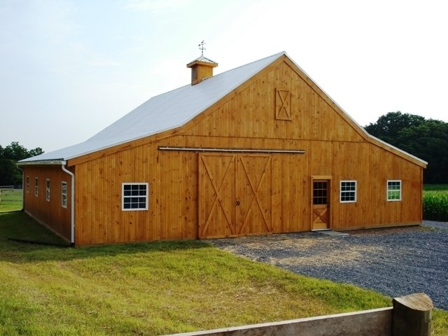 Beam Barns' Event Center and Wedding Barns can be fully customized to meet individual needs. Every Event Center Barn gets a custom floor plan layout that's specific to your needs, which is included in the standard cost.  Photo 1 of 11 in 10 Prefab Barn Companies That Bring DIY to Home Building