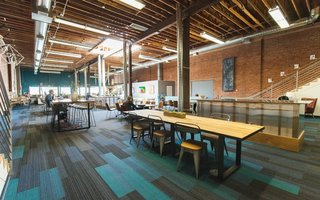 These 6 Collaborative Coworking Spaces Will Give you Serious Office Envy - Photo 10 of 10 - Because Covo's large, open space is ideal for events, they have a full calendar scheduled at any given time. You can also host your own party, intimate gathering, or company event, with direct access to the on-site bar and cafe.