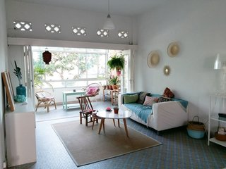 Experience a Modern, Eclectic Side of Singapore at One of These 10 City Stays - Photo 10 of 13 - Located in a quiet neighborhood between the Novena and Newton MRT stations, this one-bedroom walk-up apartment has a nostalgic, tropical feel that recalls 1970s homes in Singapore.