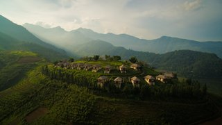 Hide Out in One of These Asian Retreats That Are Immersed in Nature - Photo 8 of 12 - A sustainable lodge in Sapa, Northern Vietnam, Topas Ecolodge is an ideal base for exploring the Hoang Lien Son mountain range and meeting the people of the elusive hill tribes who live in the region's villages. The simple rooms come with balconies that offer stunning views of the mountainous landscape.