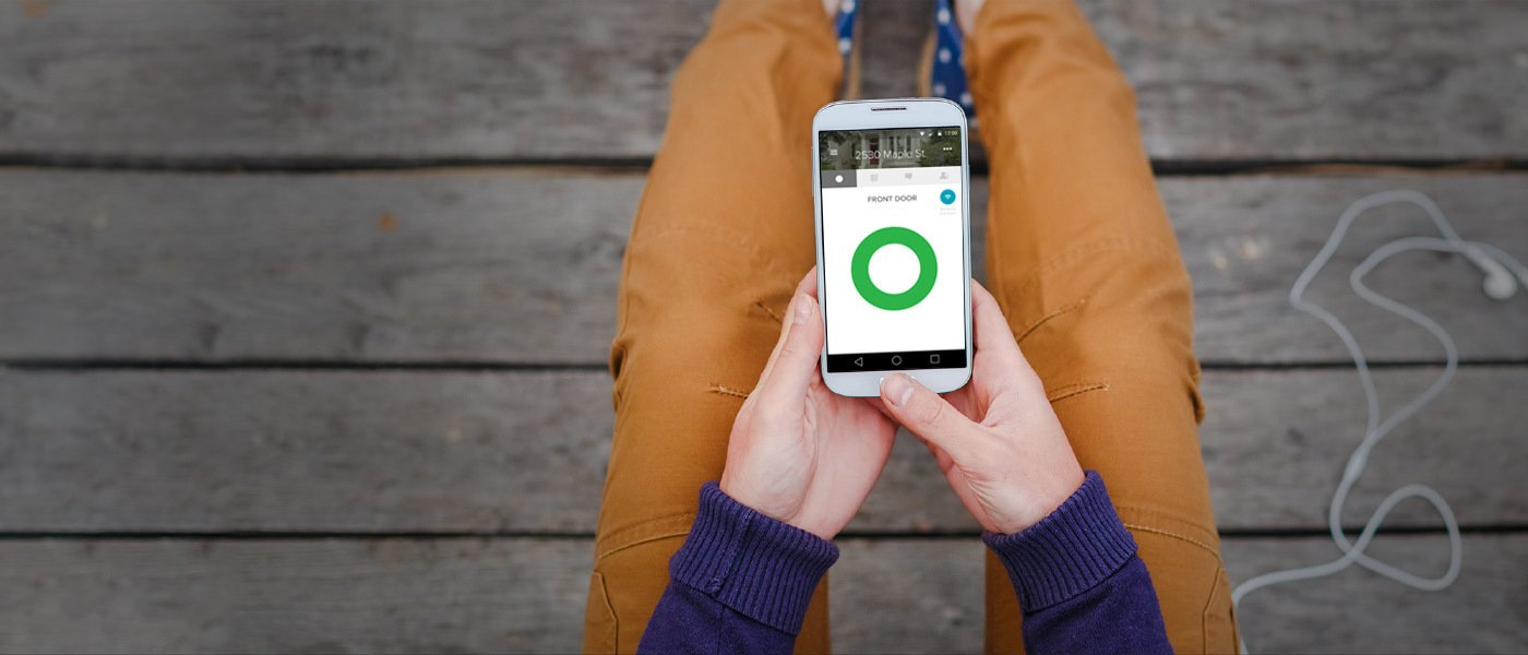 Eliminate the need to hide keys under the welcome mat with a smart lock.  Photo 6 of 6 in 5 Key Elements of Smart Home Functionality