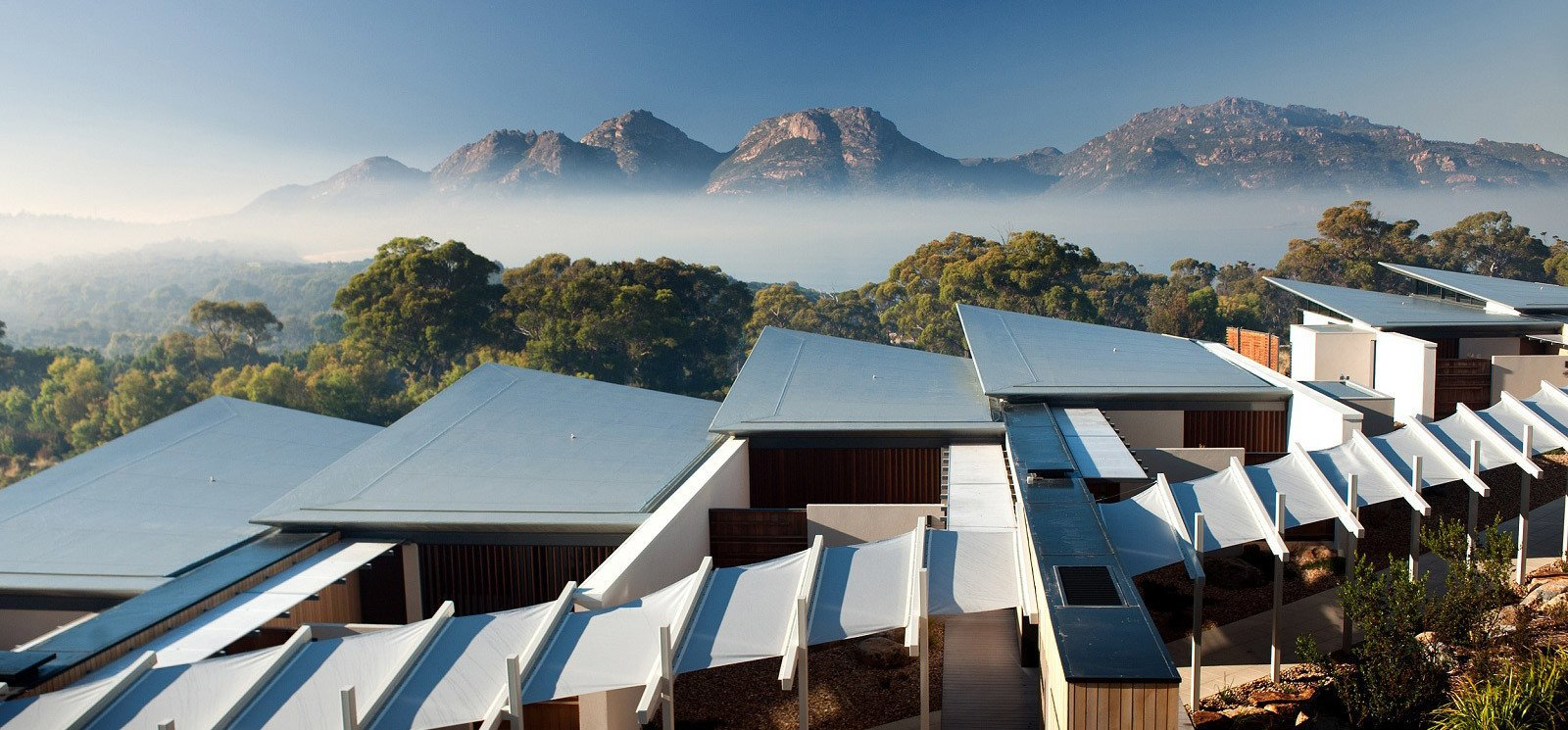 Photo 3 of 10 in This Modern Tasmanian Resort  Reflects the Natural Forms Surrounding It